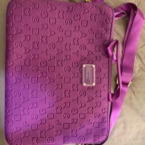"""Purple Marc by Marc Jacobs 15"""" laptop bag"""